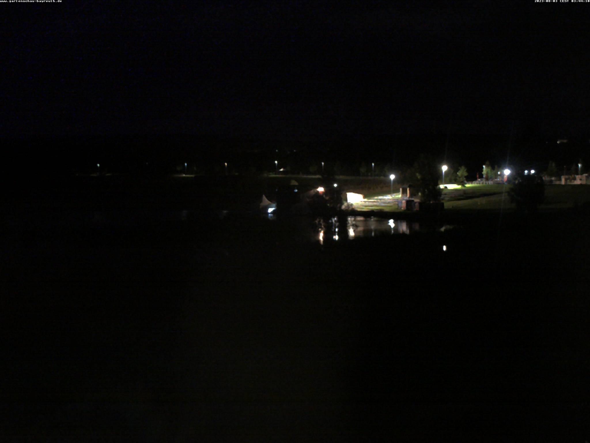 Panoramaansicht des Landesgartenschaugeländes in Bayreuth