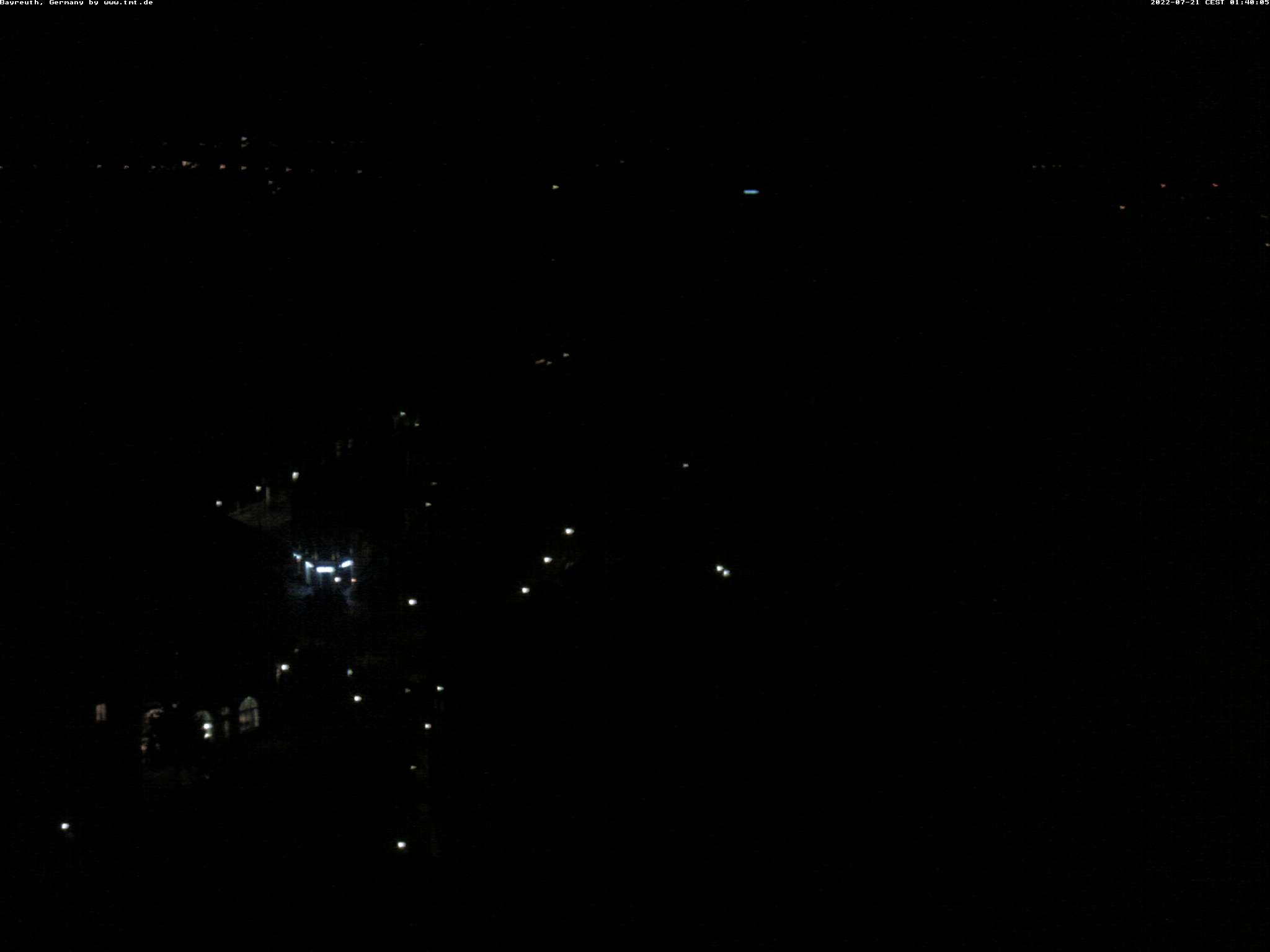 Panorama der Bayreuther Innenstadt