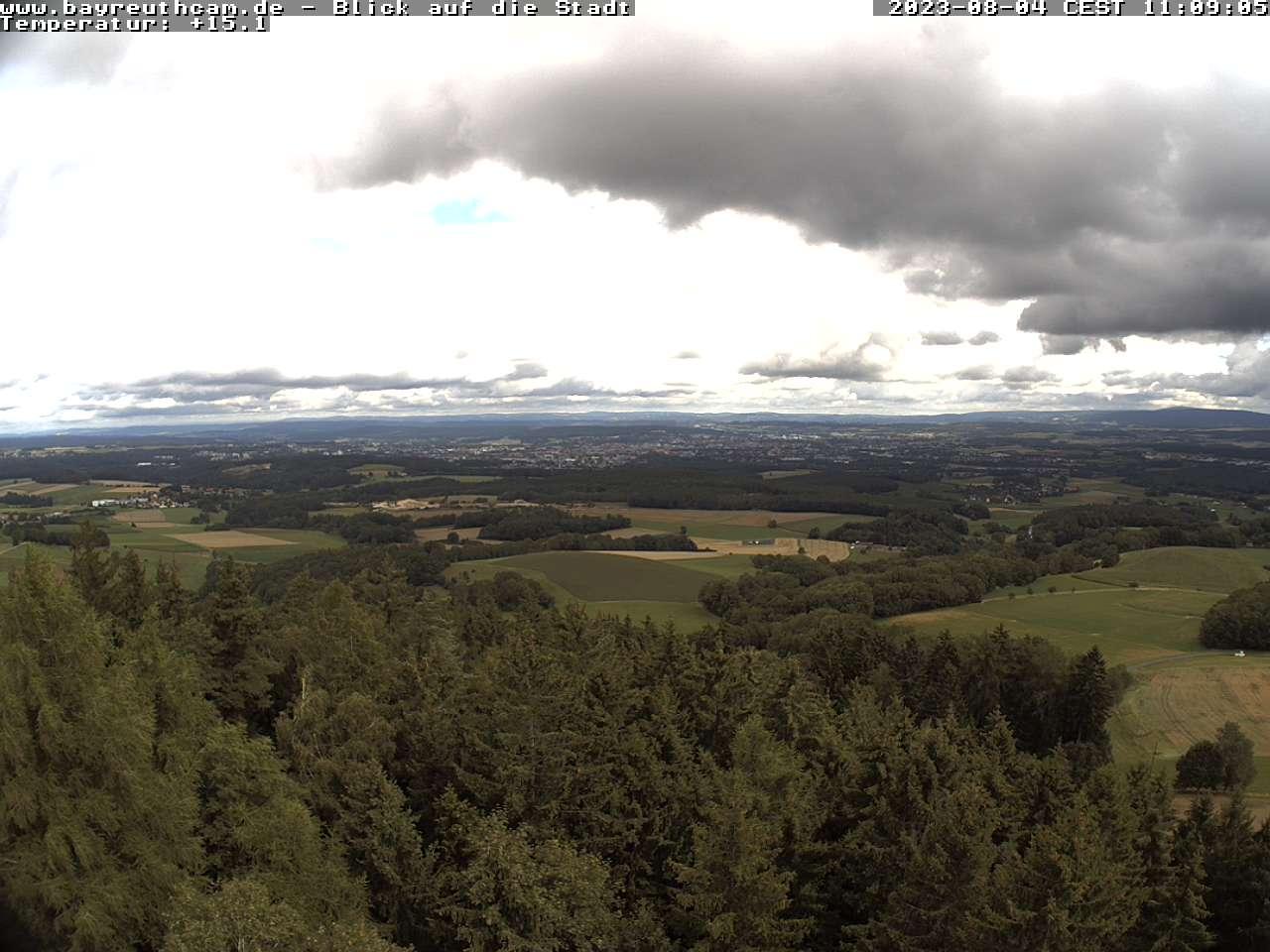 Sophienberg - Blick auf Bayreuth