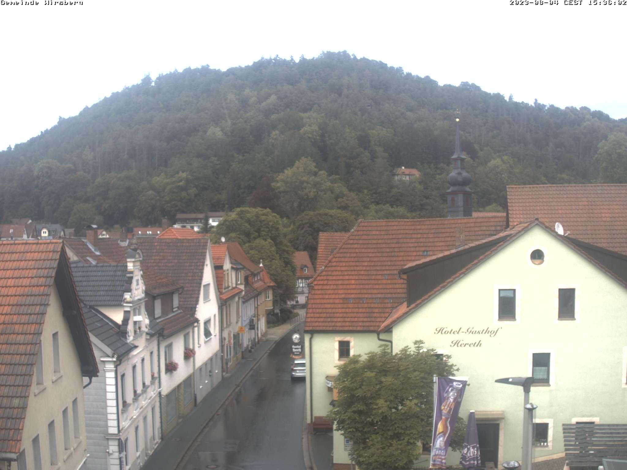 Webcam am Rathaus der Stadt Wirsberg